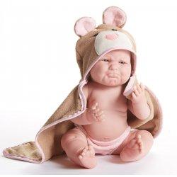 La Newborn Moments Myszka - Lalka Bobas Dziewczynka