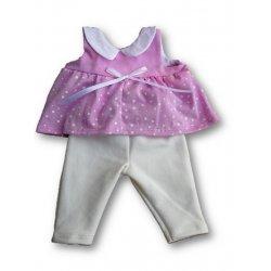 Tunika i legginsy dla lalki - rozmiar L