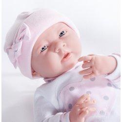 Lalka La Newborn - dziewczynka, ubranko z serduszkiem