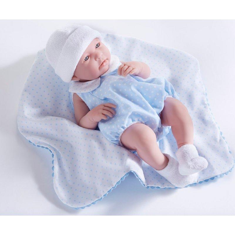 duża lalka bobas Nino jak noworodek