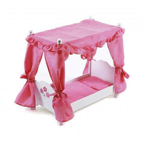 Łóżeczko dla lalki z baldachimem, Bayer Chic 2000