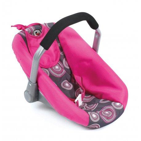 Fotelik do samochodu dla lalki - Bayer Chic, Corallo