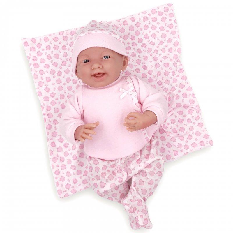 Lalka Bobas w różowej piżamce - hiszpańska!