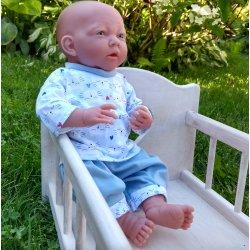 Piżamka kotki, rozmiar jak na baby born