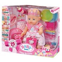 Baby Born - Lalka Interaktywna Urodzinowa 824054 Zapf Creation