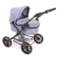 Wózek dla Lalek Picobello - Niebieski Jeans - Bayer Chic 556 50