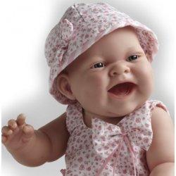 Lola w kapelusiku - lalka niemowlę, Berenguer Boutique