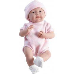 Lalka Hiszpańska La Newborn Różowa