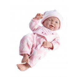 Nina zaspana - lalka bobas 43cm
