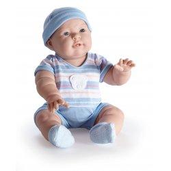 Lucas niebieskie ubranko - duża lalka bobas chłopczyk