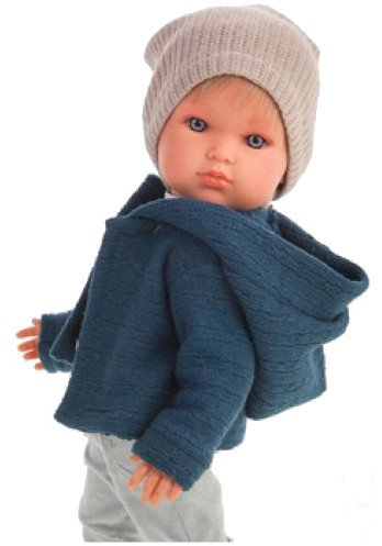 Hiszpańska lalka z włosami, Antonio Juan 2813, chłopiec