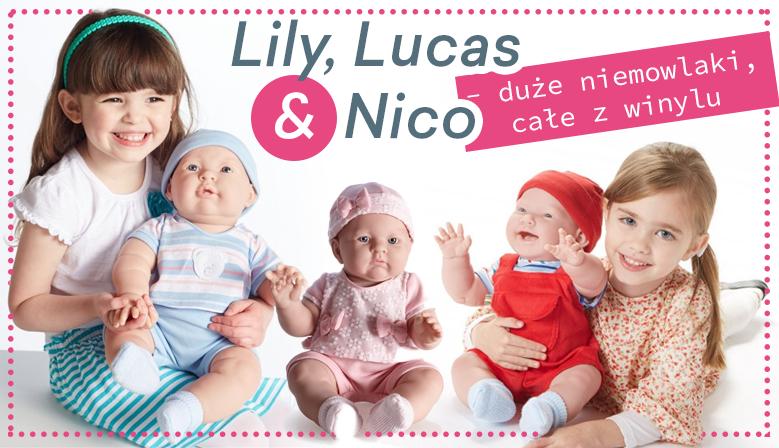 lily, lucas, nico