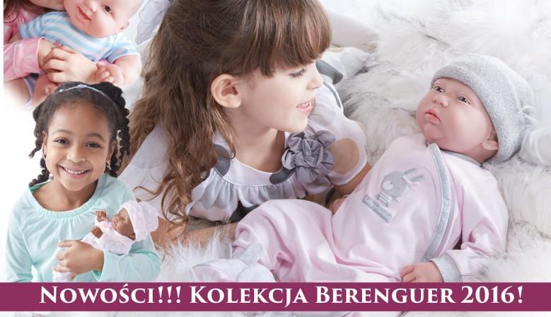 Nowa Kolekcja Berenguer na rok 2016 - Hiszpańskie lalki bobasy!