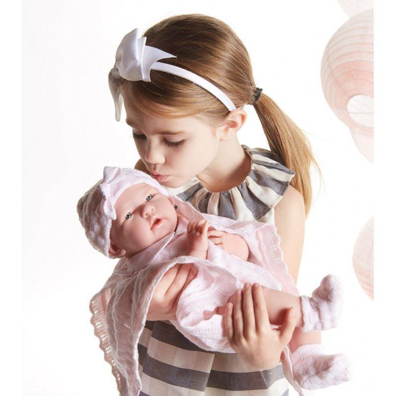 lalka bobas La Newborn Rosa