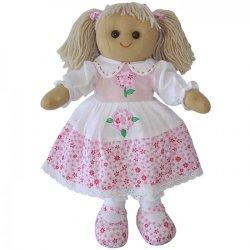 Lalka szmaciana - różowa - Powell Craft