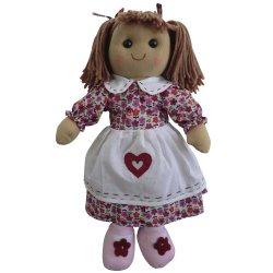 Bright Floral 40cm long Rag Doll - Powell Craft