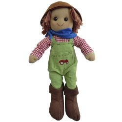 Lalka szmaciana - farmer - Powell Craft