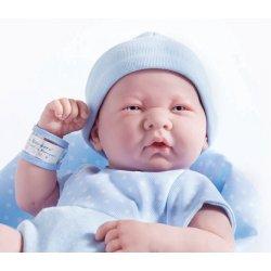 La Newborn Doll in blue outfit - boy 18540