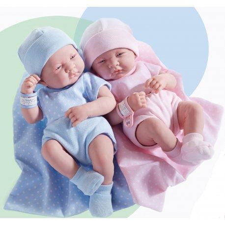 Lalki noworodki - chłopczyk i dziewczynka - Berenguer