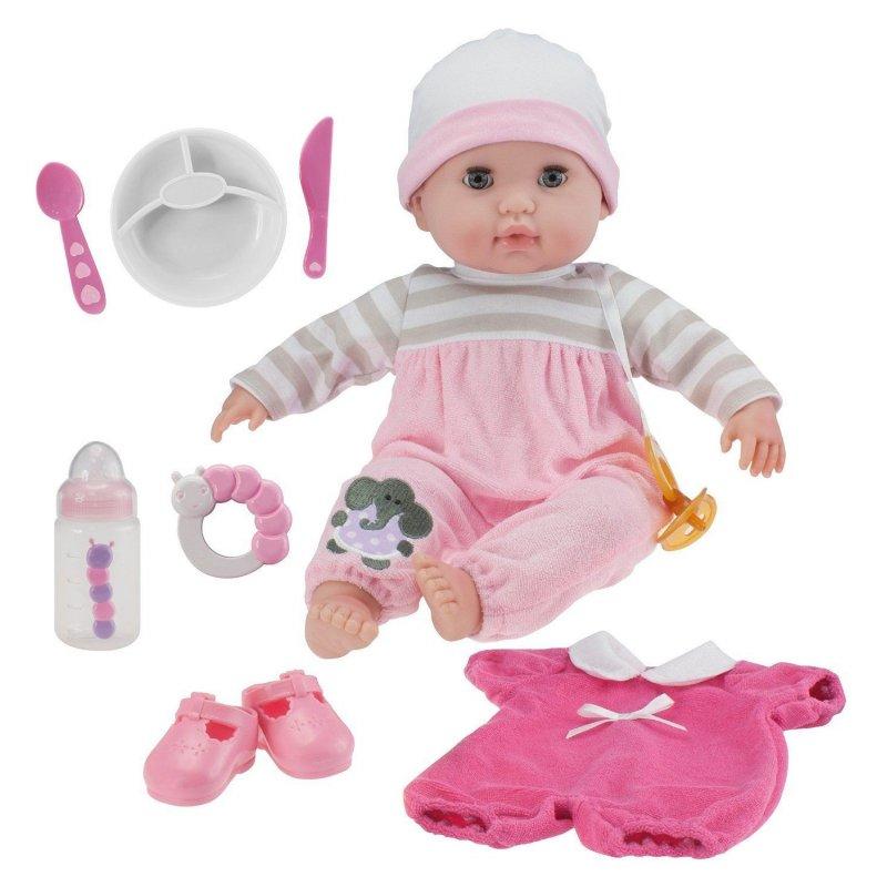 Mięciutka lalka dla dwuletniej dziewczynki