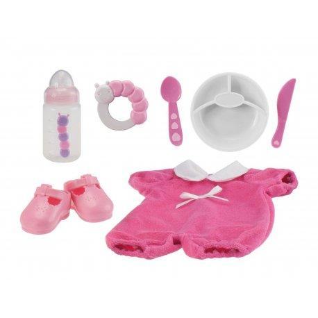 Akcesoria dla lalki bobas - zestaw