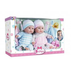 TWINS - Soft Body Baby Dolls -38 cm