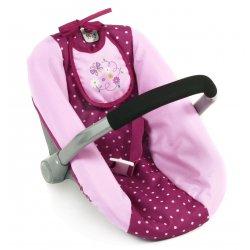 Fotelik do samochodu dla lalki - Bayer Chic, Dots