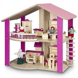 Drewniany domek dla lalek - Bayer Chic 294 01