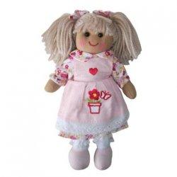 Mała Lalka Szmacianka - kwiatuszek - Powell Craft