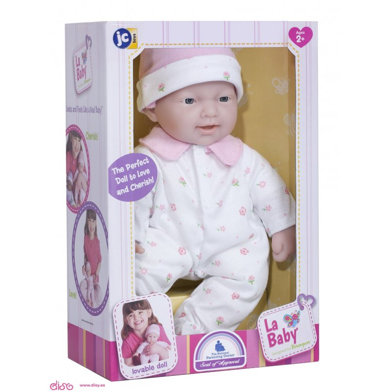 mała miękka lalka bobas 13107