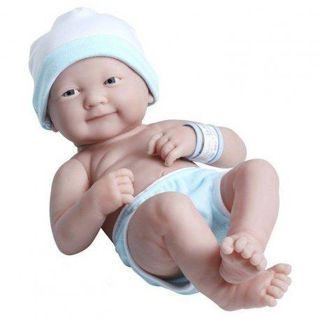 Lalka bobas z ubrankami do przebierania - chłopczyk