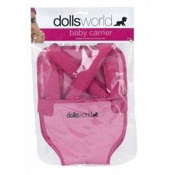 Różowe nosidełko dla lalki - Peterkin