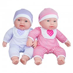 Baby Soft Doll Soft Body Twins Lots to Cuddle Babies 38 cm