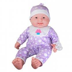 Lalka Bobas z Akcesoriami Duża 52 cm - ubranko Lila