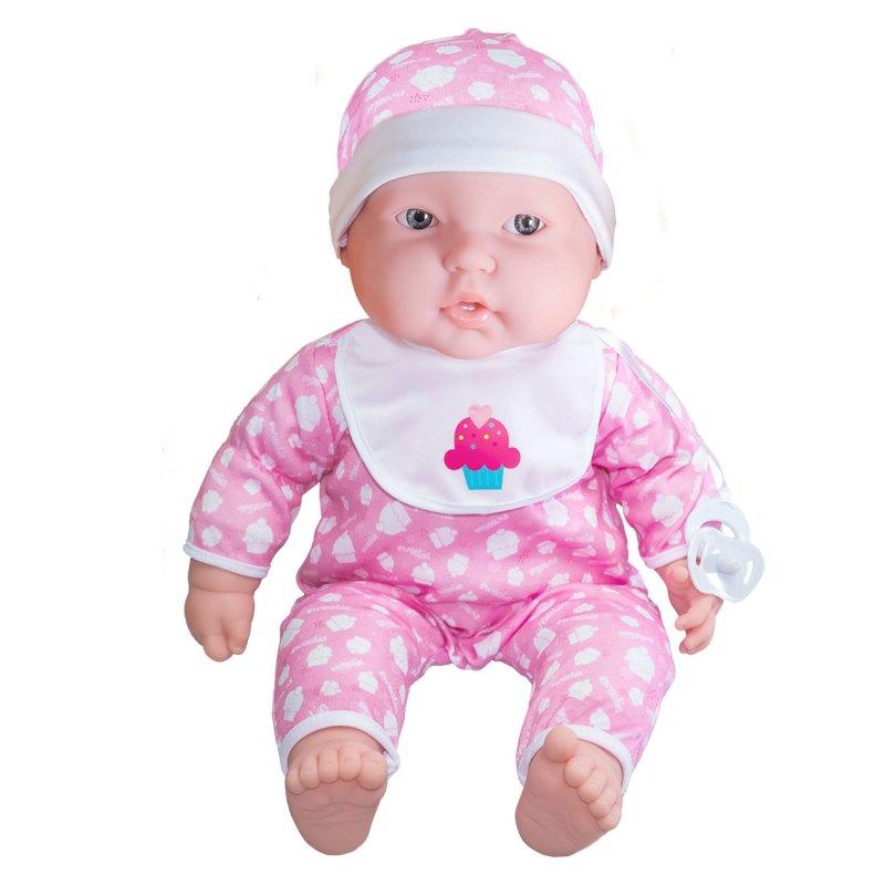 Lalka bobas ze smoczkiem oraz innymi akcesoriami - duża lalka