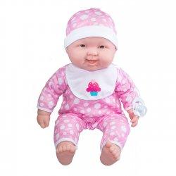 Duża, miękka lalka bobas uśmiechnięta - Lot's to Cuddle JC TOYS