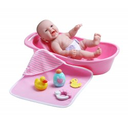 Baby Doll Bathtub Set - 8 Piece Gift Set