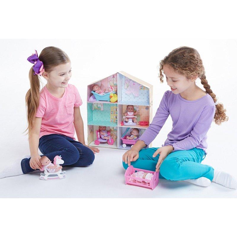 Domek dla lalek + akcesoria i laleczki
