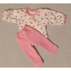 Piżamka dla lalki - różowa, rozmiar M