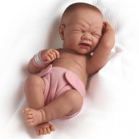 Fantastyczny Lalka Bobas La Newborn Prawdziwa Dziewczynka! DL54