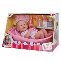 Baby Doll with Deluxe Bath Time Fun Set
