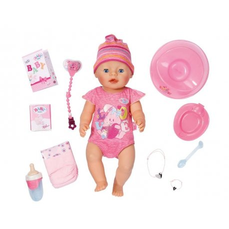 Baby Born Lalka Interaktywna Funkcyjna - 9 Funkcji