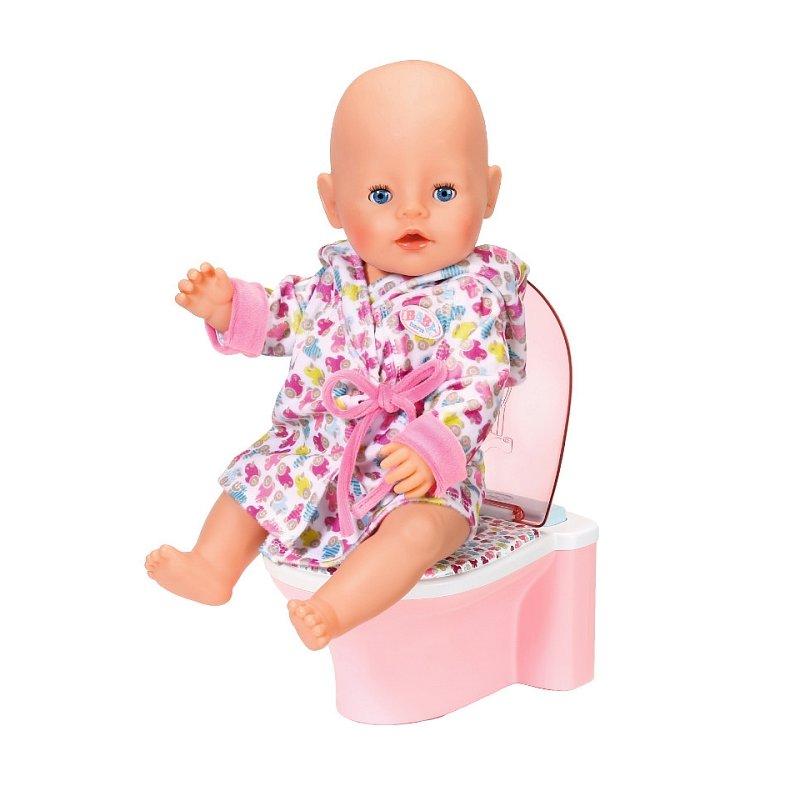 Baby Born Interactive Potty Toy Zapf Creation 822531