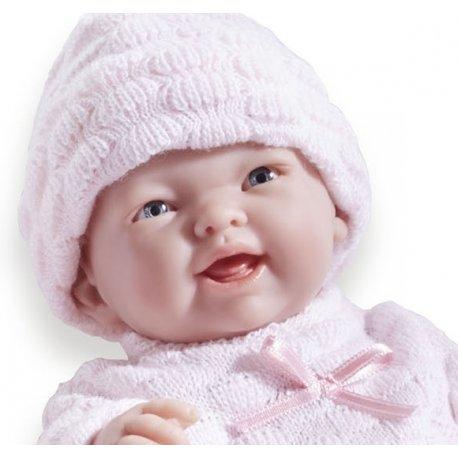 Mała Lalka Bobas dla Dziewczynki - buźka