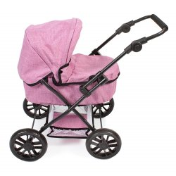 Pushchair for Dolls Picobello - Color Jeans PINK - Bayer Chic 556 50