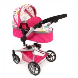 YOLO COMBI Doll's Pram – Pink - Bayer Chic