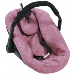 Fotelik dla lalki - różowy Jeans - Bayer Chic 708 70