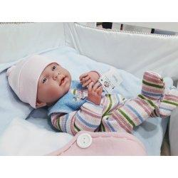 Lalka La Newborn Lisa - Berenguer Boutique, bobas dziewczynka