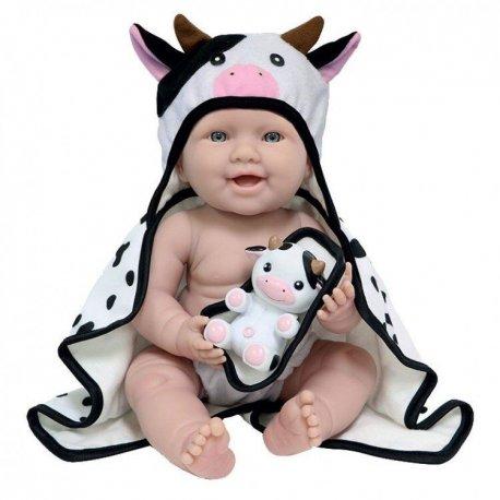 La Newborn krówka - lalka bobas chłopczyk