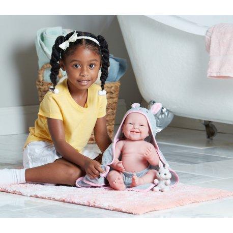 Hiszpańska lalka bobas z dziewczynką - ref. 18007
